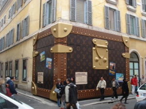 One of the large Louis Vuitton Bags, Rome, May 2007