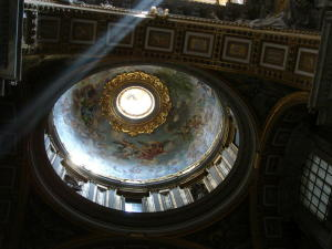 A Dome at St Peters Basilica, Rome, May 2007
