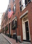 Acorn Street, Beacon Hill, Boston, April 2008