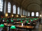 Restored Reading Room of Boston Public Library